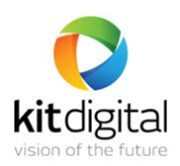 KIT digital - Issue closed on the main market, transferred to START market