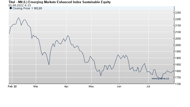 NN (L) Emerging Markets Enhanced Index Sustainable Equity