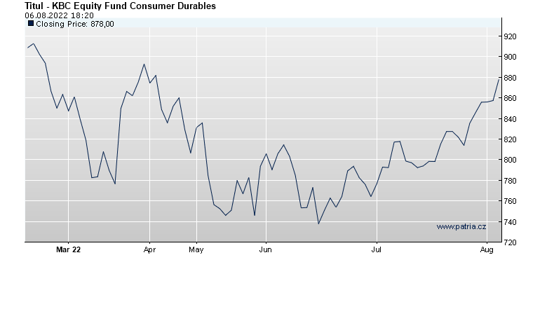 KBC Equity Fund Consumer Durables
